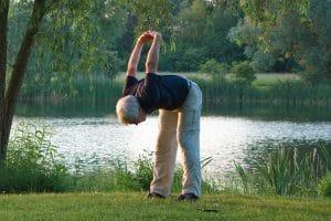 exercices physiques en plein air