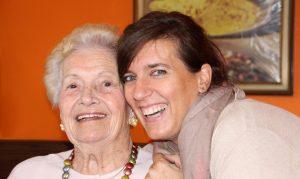 Grand-mère à domicile