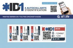 carte d'identité médicale ID1